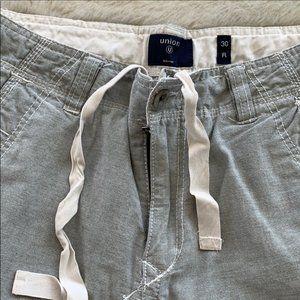 14th & Union   Grey Cargo Shorts